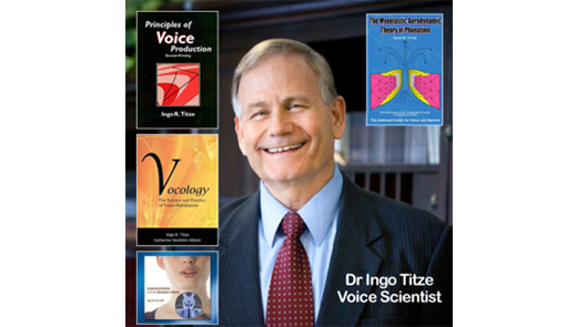 Dr Ingo Titze text books