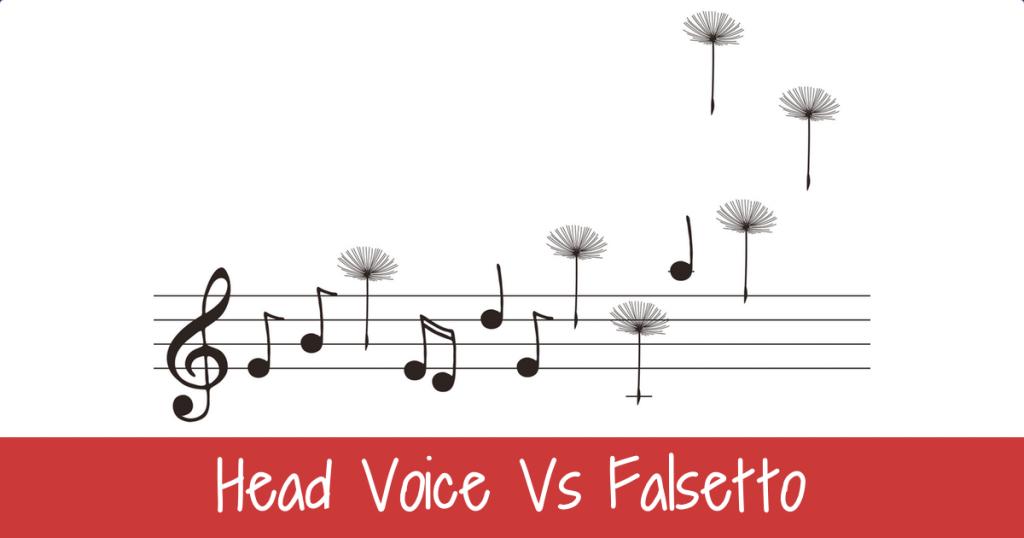 Head voice Versus Falsetto