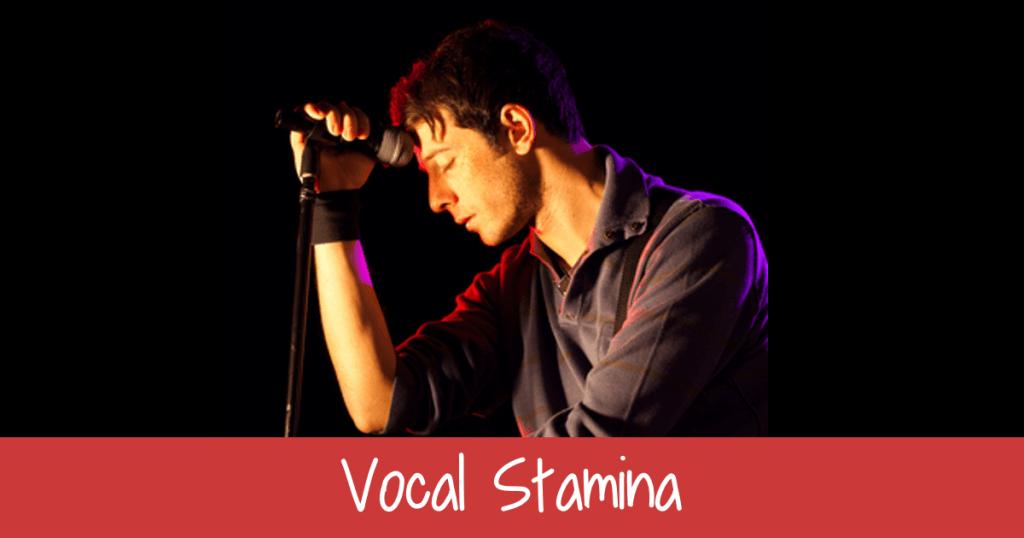 Increasing Vocal Stamina