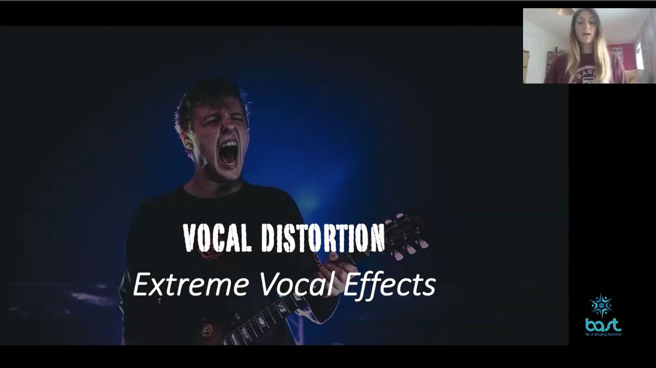 Vocal distortion