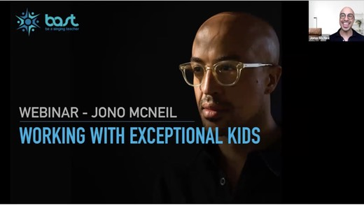 Working With Exceptional Kids Jono McNeil